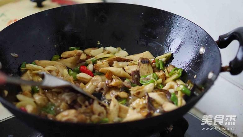 新鲜山棠菌炒肉怎么煮