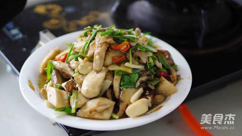 新鲜山棠菌炒肉怎样煸