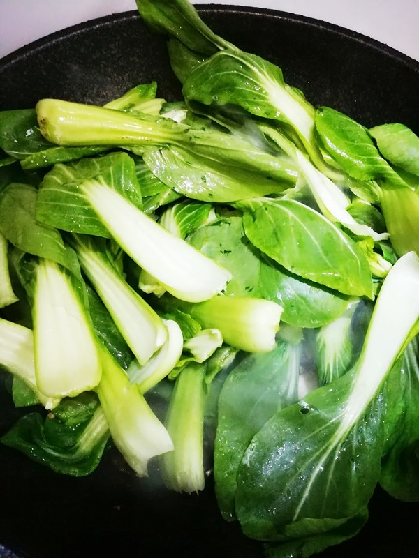 蒜蓉蘑菇炒小油菜怎么煮