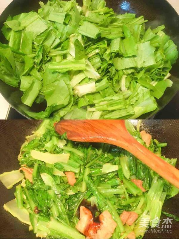 炒油麦菜的简单做法