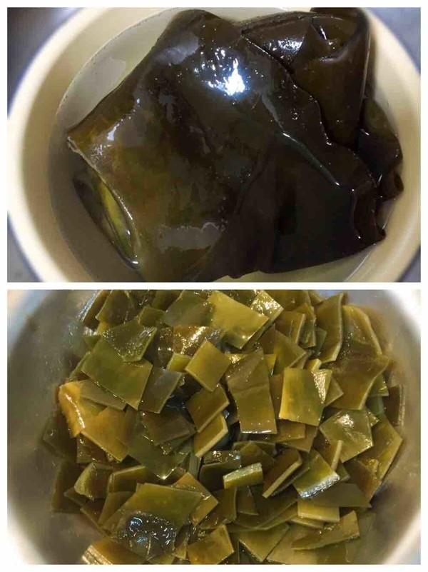 五花肉炖冻豆腐土豆海带的做法大全