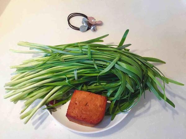 豆腐干炒韭菜的做法大全