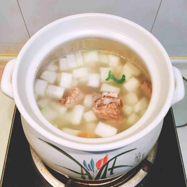 砂锅冬瓜排骨汤的简单做法