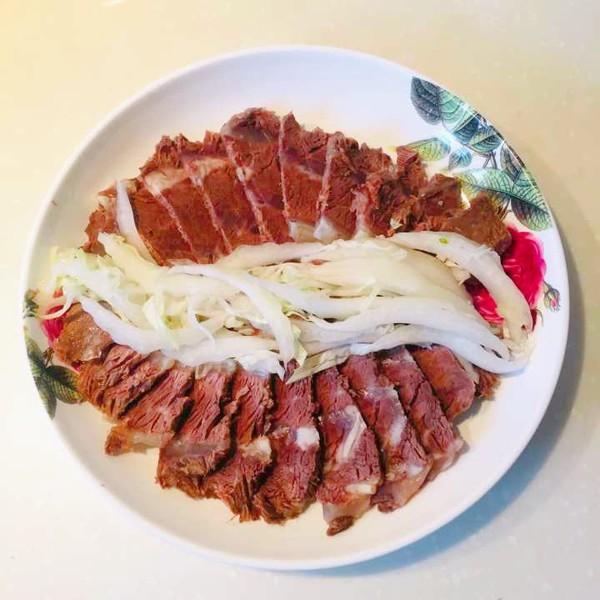 蒜香扒牛肉的简单做法