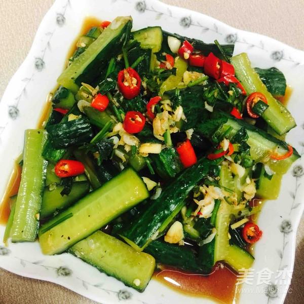 黄瓜拌虾米怎么煮
