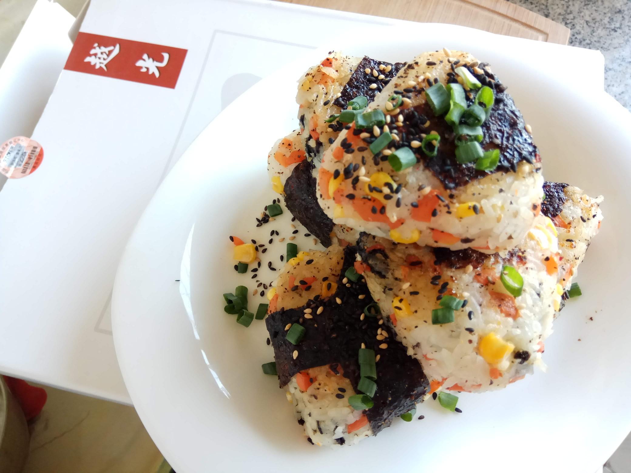 做饭小白也能快速掌握的芝心日式饭团怎样煮