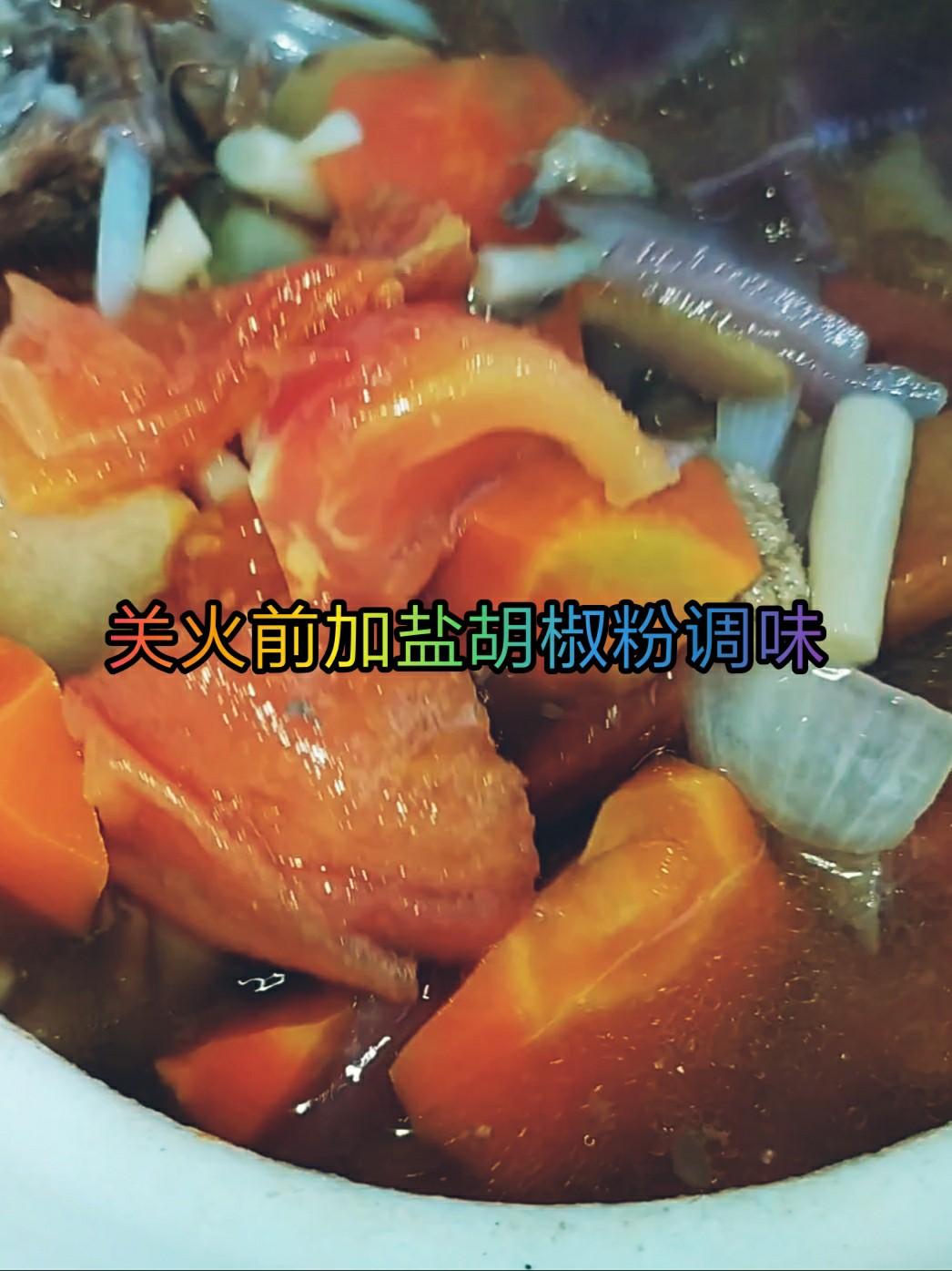 鲜香暖胃的胡萝卜炖羊蝎子~0~选对肉——吃肉也能吃得清淡怎么炖