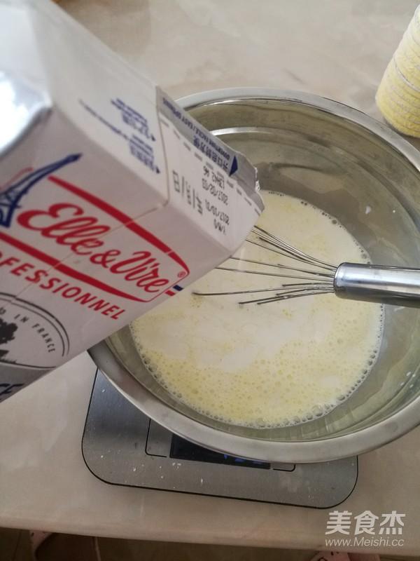 黄桃蛋挞(全蛋版)的家常做法