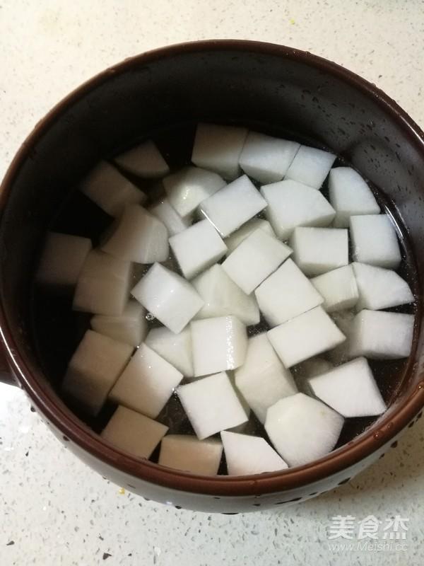 排骨白萝卜汤怎么炒