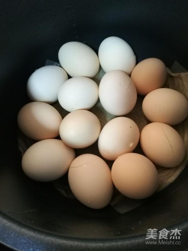 卤蛋怎么做