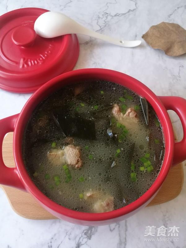 海带排骨汤怎样做