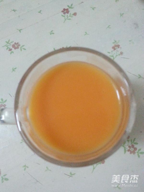 木瓜牛奶汁成品图