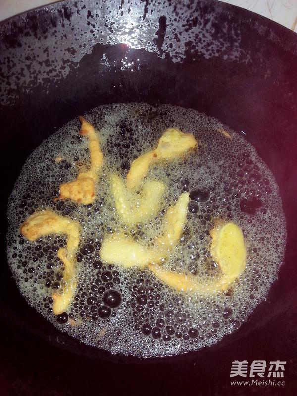 椒盐蘑菇的简单做法
