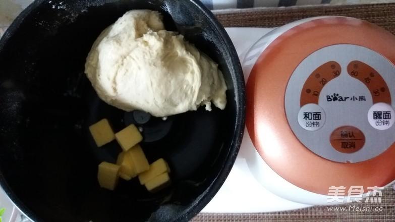 牛奶吐司的家常做法