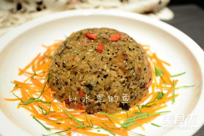 滋补糯米饭怎么煮