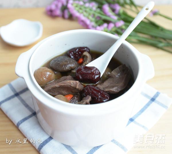 红枣桂圆炖猪心怎么吃