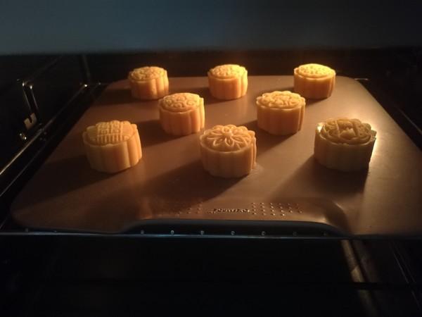 金沙奶黄流心月饼怎样做