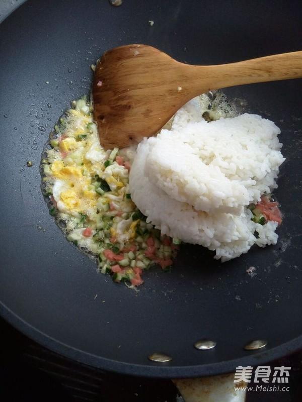 酱油炒饭的简单做法