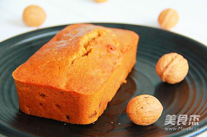 孕妇甜品——红糖核桃磅蛋糕成品图