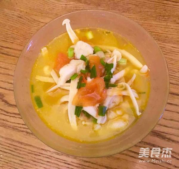 番茄龙利鱼菌菇汤怎么做