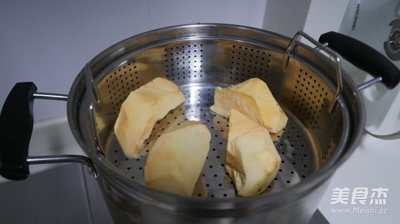 炸红薯丸子的做法大全