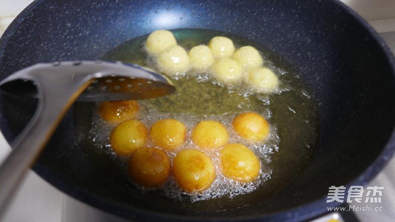 炸红薯丸子怎么做