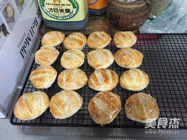 软糯豆沙/糯米老婆饼的做法大全