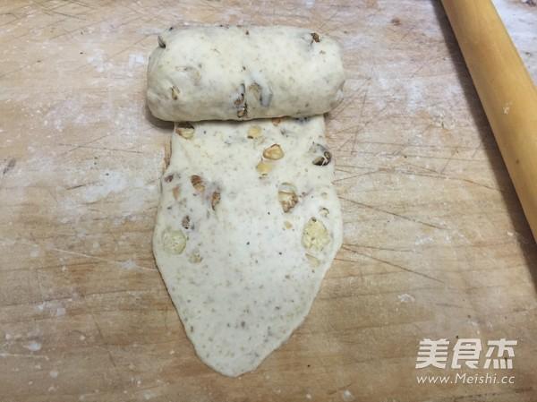 全麦核桃土司 中种法的制作方法