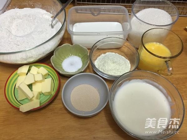 肉松面包卷 汤种法的做法图解