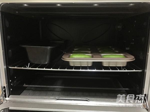 抹茶麻薯蜜豆包的制作大全