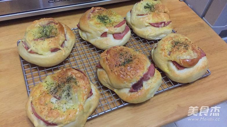 火腿芝士面包的做法大全