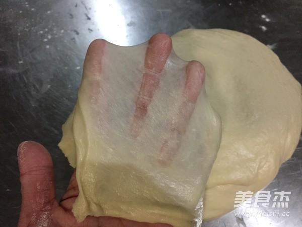 快手皇冠面包 一次发酵的简单做法