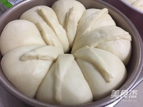 快手皇冠面包 一次发酵的制作