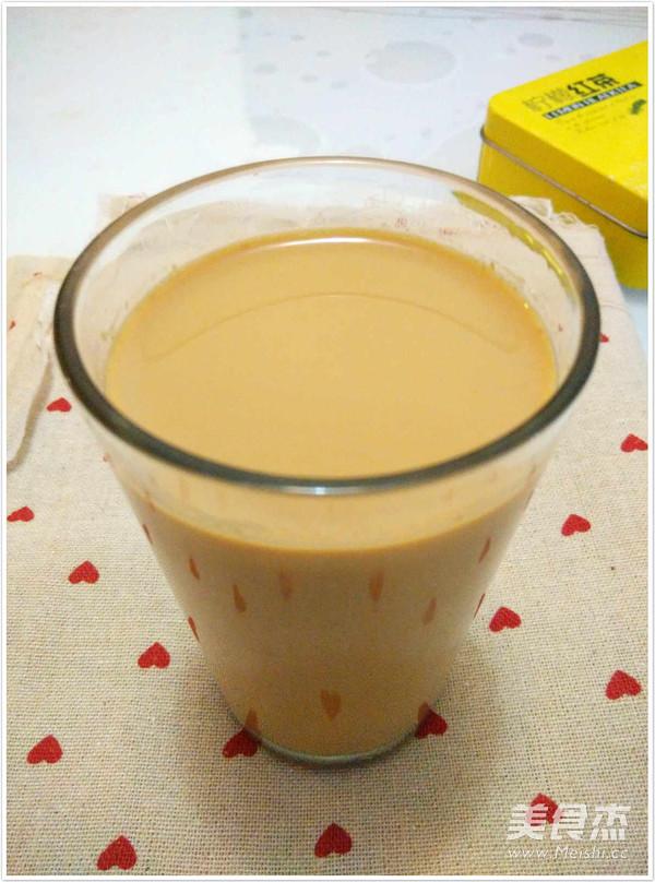自制奶茶成品图