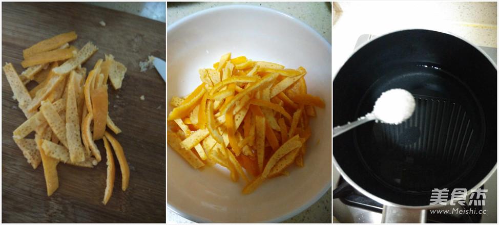 糖渍桔皮的简单做法