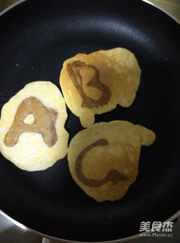 字母煎饼怎样煸
