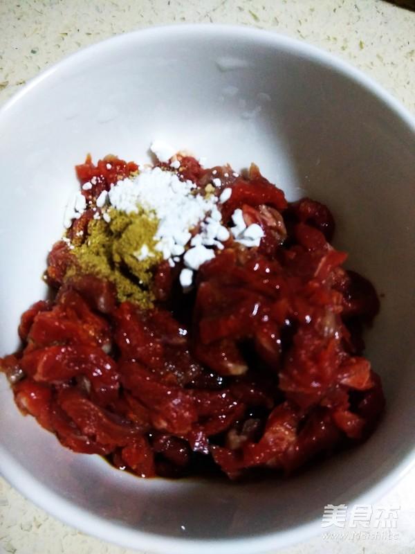 芹菜炒牛肉丝的做法图解