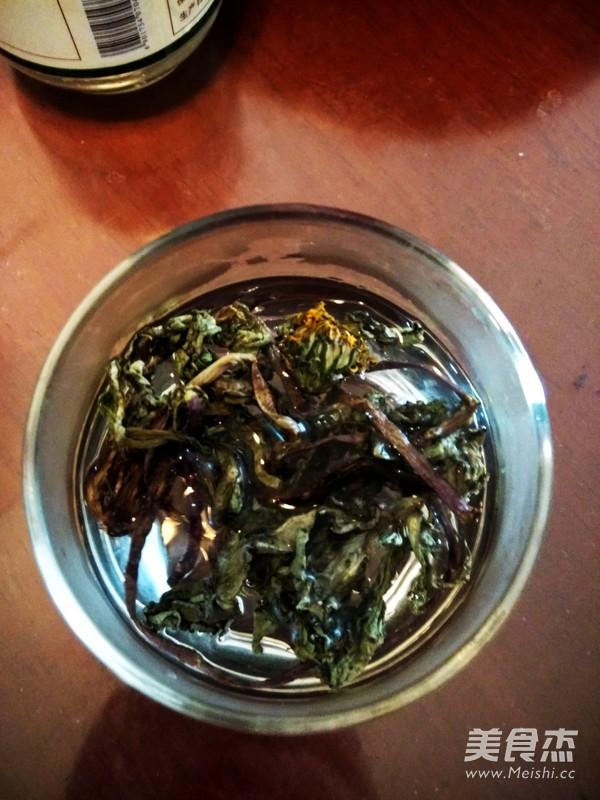 蒲公英茶水的家常做法