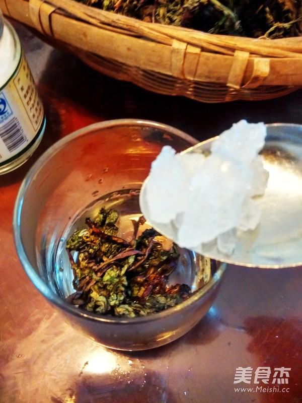 蒲公英茶水的简单做法
