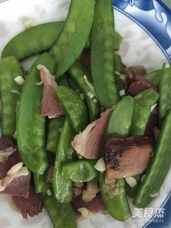 荷兰豆炒腊肉怎么吃