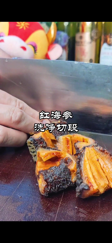 过年做啥菜~红海参焖红烧肉的做法图解