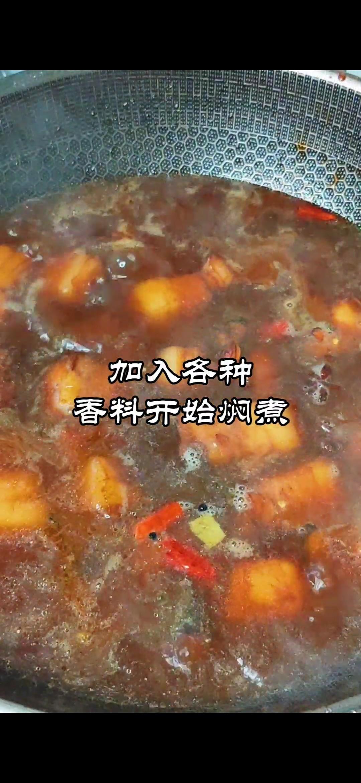 过年做啥菜~红海参焖红烧肉的简单做法