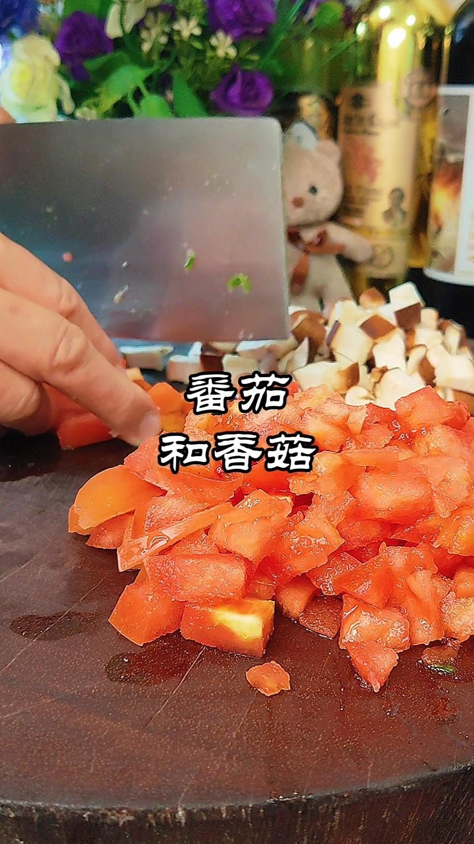 番茄肉酱焖米饭的做法大全