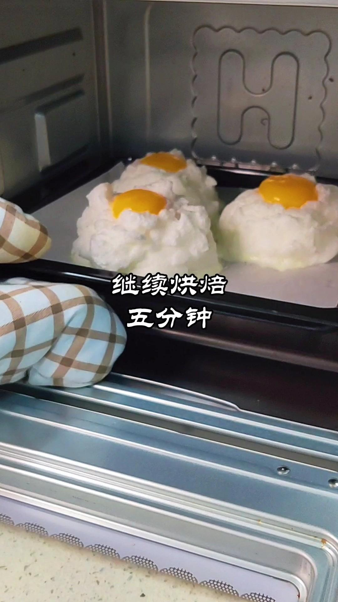 网红云朵蛋教程~零失败的简单做法