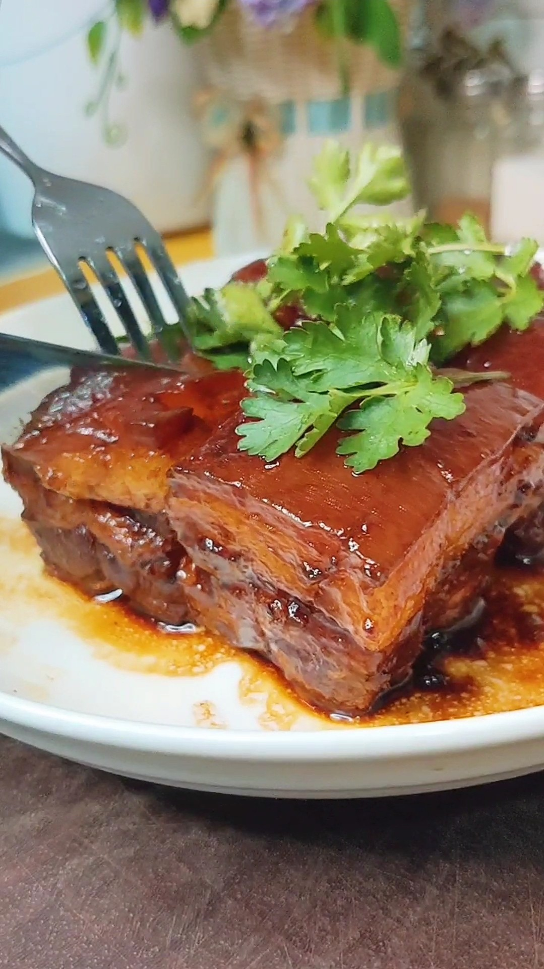 苏轼东坡肉成品图