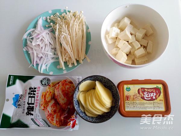 泡菜豆腐酱汤的做法大全