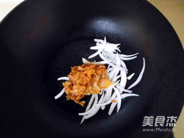 泡菜豆腐酱汤的做法图解