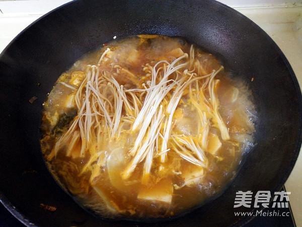 泡菜豆腐酱汤怎么做