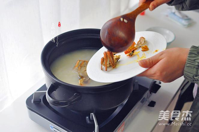 蟹粥的简单做法