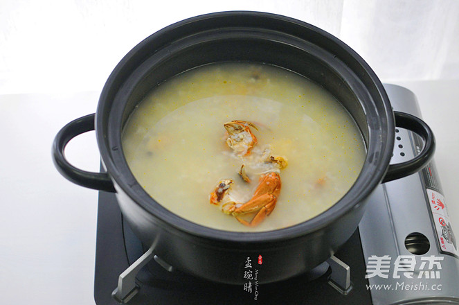 蟹粥怎么吃